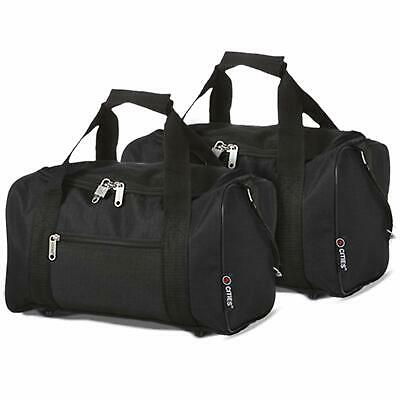 Set of 2 Ryanair Small Hand Carry On Cabin Luggage Flight Gym Holdall Bags