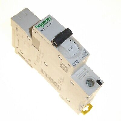 Schneider iKQ single pole mcb circuit breakers Type B, C 6A 10A 16A 20A 32A 40A