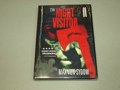 The Night Visitor (DVD, 2013)  Max Von Sydow    NEW