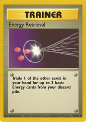 4x Full Heal Energy Uncommon Unlimited Edition NM-Mint Pokemon G1 81//82