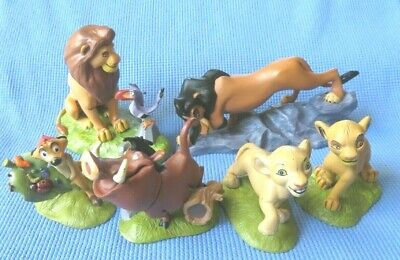 Disney Lion King NALA PUMBAA TIMON MUFASA SIMBA SCAR figure lot toy cake topper