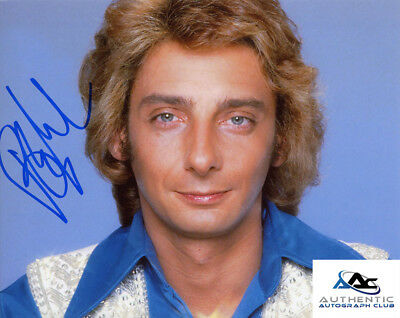 Barry Manilow Autograph Signed 8X10 Photo Coa