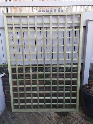 Wood Trellis Panel- From Jacksons fencing
