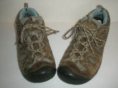 86ee559e2b8 KEEN WOMEN'S VOYAGER Brown Leather Mid Hiking Boot US Size 9 EU 39.5 ...