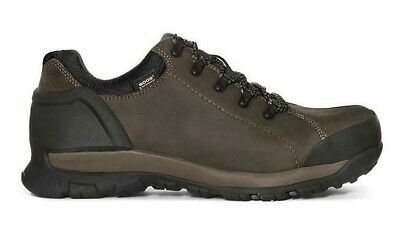 af250869b94 BOGS MEN'S FOUNDATION Leather Low Top Work Boots Brown 72235-200 size 10