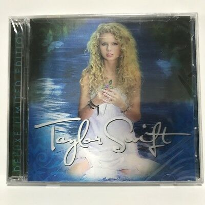 Taylor Swift Self Titled Deluxe Edition Brand New Sealed