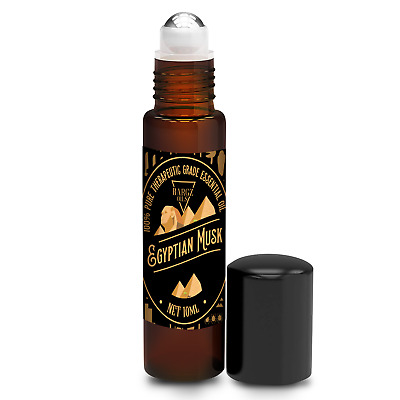 Egyptian Musk Essential Oil Rich And Long-Lasting Aroma - Roll On Bottle [10 ML]