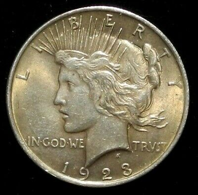 1923 Peace Silver Dollar $1 Philadelphia Mint