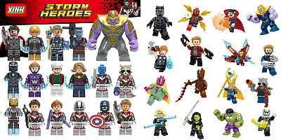 Avengers infinity war End Game Super Hero Marvel Fit Lego Mini Figures UK SELLER