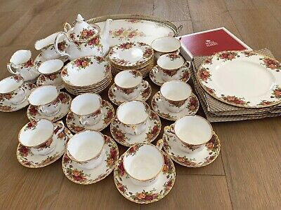 Royal Albert Old Country Roses Breakfast, Dinner and Teaware