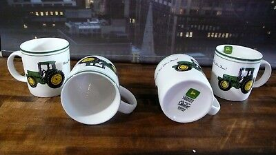 JOHN DEERE COFFEE MUG SET OF 4 by GIBSON