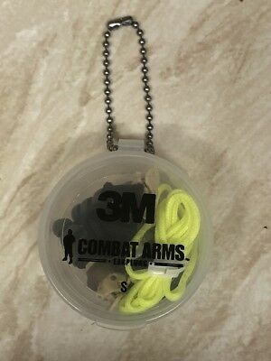 3M Combat Arms Defenders Earplugs, Ballistic Quality Size Small #