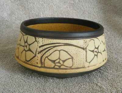 1910s Weller Art Pottery CLAYWOOD Line/Pattern 4-1/2in. Bowl