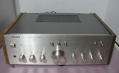 Sony Model TA-F3A Integrated Amplifier==Serviced!