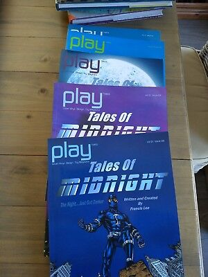 A Collection of Five Issues of Play Times Magazine