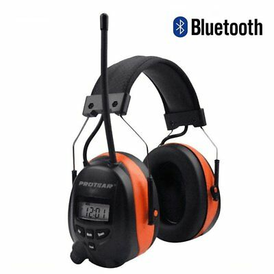 Protear Bluetooth & Radio AM/FM Ear Protector Hearing Protection Safety...
