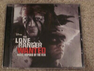 Disney The Lone Ranger Wanted Music Inspired by the Film CD 2013