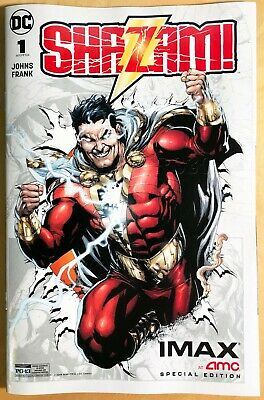 2X Dc Shazam 2019 Amc Imax Comic Book #1 - Rare Collectible Brand New Ships Fast