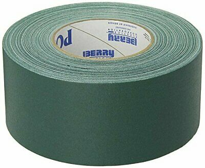 "GREEN Gaffers Tape POLYKEN 510 72mm x 50M (3""x55yds) - Convenience Pack 6 Rolls"