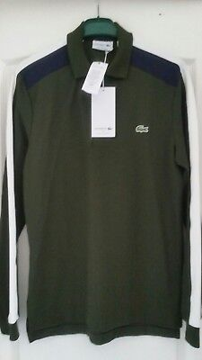 3 Longues Lacoste Manches Taille Neuf Polo UMSLpGjqzV