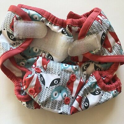 Rumparooz Fox Racoon Owl Clyde One Size Diaper Cover