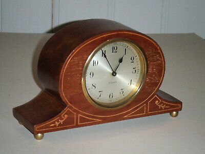 1925 Junghans Wurttemberg A42 Mantel Clock 8 Days (Detached Spring) Tennis Club