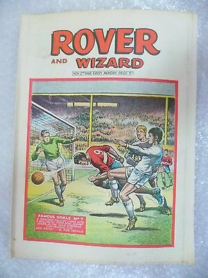 Comic- Rover and Wizard 2nd November 1968