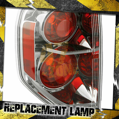 Aftermarket Replacement Left Driver Side LH Tail Light for 2006-2008 Honda Pilot