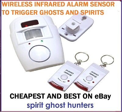 Ghost Hunting Ir Infrared Motion Detector Sensor Alarm Paranormal Equipment Kit