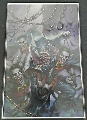 DC Batman Who Laughs #1 Variant Virgin Cover C by Lucio Parrillo Ltd to 1000