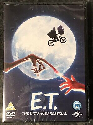 Et - The Extra Terrestrial  Dvd 1982 Brand New & Factory Sealed Mint
