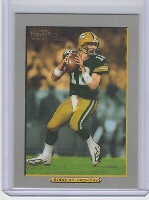 2005 Topps Turkey Red Aaron Rodgers Rookie Card Rc Nice