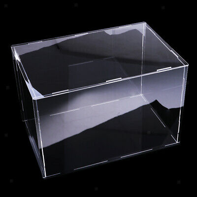 Clear Acrylic Display Case Dustproof Model Figures Protection Box 36*16*16cm