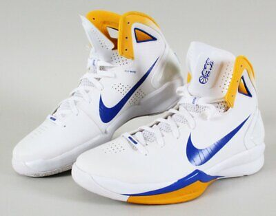 e7a180791bc9 Stephen Curry Game Shoes Warriors 2010 Nike Hyperdunks – COA 100% Authentic  T..