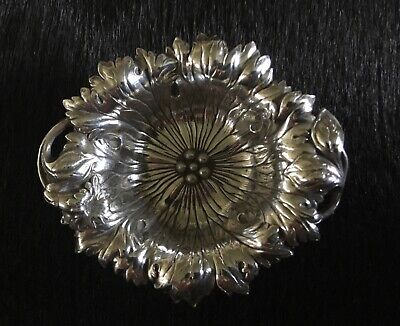 Antique Small 'Petunia' Art Nouveau Sterling Silver Bowl - Reed & Barton