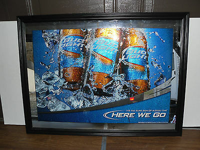Beer/Nascar>>Authentic Wall Mirrors>>