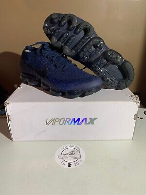 nike air vapormax flyknit Day To Night Pack Midnight Navy Size 12