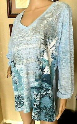 5749355f82 MAURICES PULLOVER TOP Women s Size 2X Lace Crochet Front Detail ...