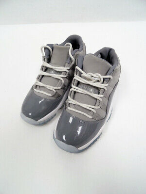 e12c78f61f09 Nike Air Jordan 11 Retro Low BG Medium Grey Gunsmoke 528896-003 Sz4y P7