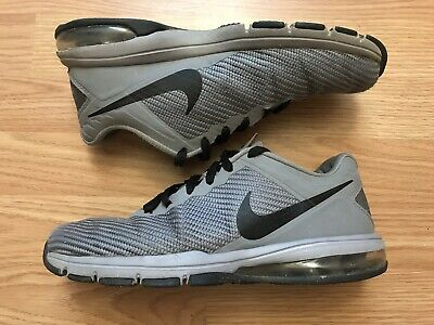 d9f4dfb3111 Nike Air Max Full Ride TR 1.5 Mens Shoes Size 8 Gray Running Athletic  869633-