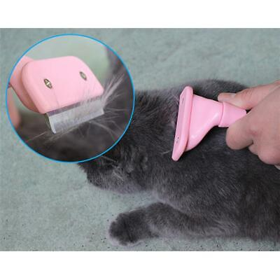 Pet Dog Cat Hair Cut Comb Grooming Tool Blade Brush Shedding Trimmer FW