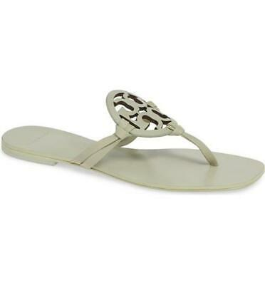 2d5a28d84 100% Authentic TORY BURCH Mill Miller Square Toe Thong Sandal 6 Mint Garden  Sage