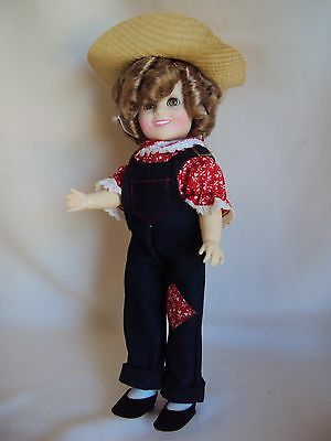 Vintage 1982 Ideal Shirley Temple Sleepy Eyes Doll As Is Fixing Or Parts