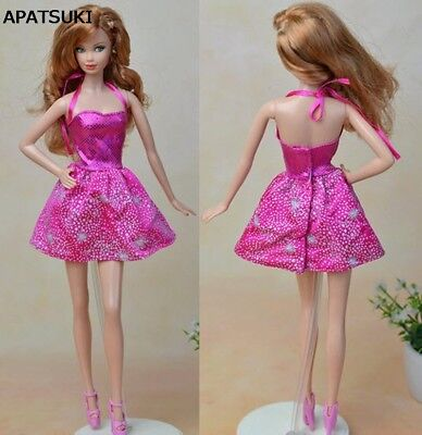 "Handmade Fashion Star Short Dress For 11.5"" Doll Clothes Party Dresses 1/6 Toy"