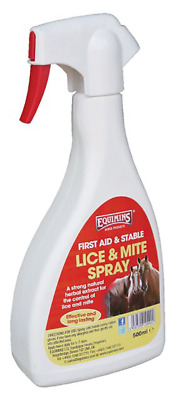 Equimins Piojos & Mite Spray 500Ml