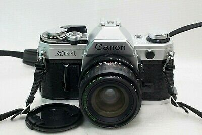 Canon AE-1 film Camera w/ 28mmf2.8 lens *V/Good*