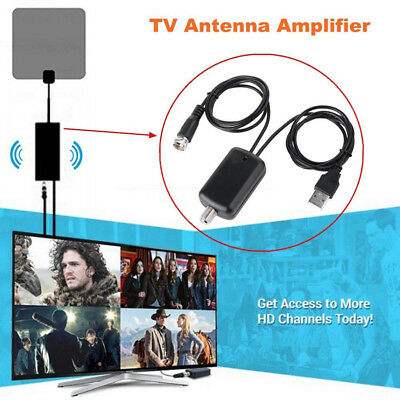 Antenna TV Booster HD Channel Digital HD 25db Signal For Cable TV Fox Amplifier