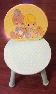 Precious Moments Child Size Wooden Chair Sturdy and Good Condition FREE SHIPPIN