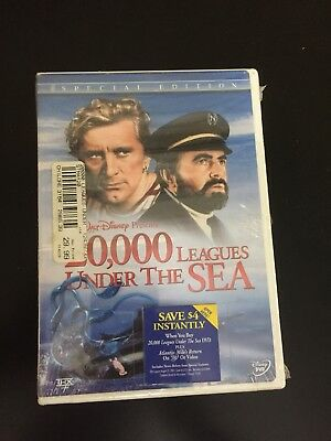 Walt Disney's 20,000 Leagues Under the Sea (DVD, 2003, 2-Disc Set) New B5