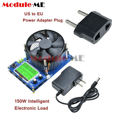 150W Intelligent Electronic Load 10A 150V Discharge Battery Capacity Tester